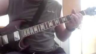 "Replaying AC/DC`s ""Caught with your Pants down"" Main Riff"