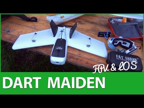 ZOHD Dart LOS & FPV 🍾Maiden Flights