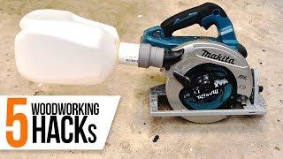 5 Amazing Woodworking Tips / Hacks