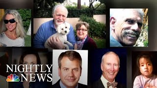 Search For Missing In California Mudslides Widens As Authorities Name Victims | NBC Nightly News