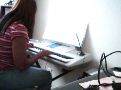 "Me practicing the song ""Believer"" in 2011."