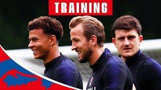 England v Nigeria | Live Training Session | World Cup 2018