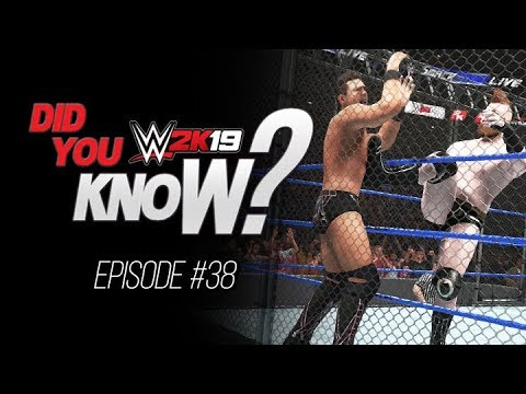WWE 2K19 Did You Know? Cage Brogue Kick, Comeback Updates, Unique Move Taunt & More (Episode 38)