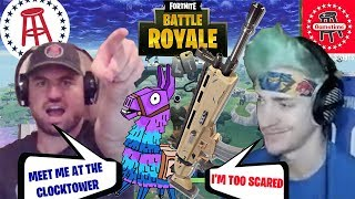 "Ninja Claims He's TOO SCARED To Rematch Smitty In Fortnite - ""He's Too Good"""