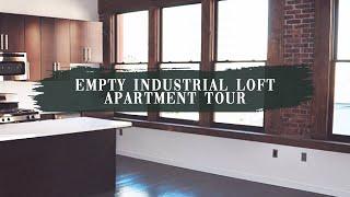 Empty Luxury Industrial Loft Apartment Tour 2020! 25 Mins To NYC | Jazmyne Drakeford