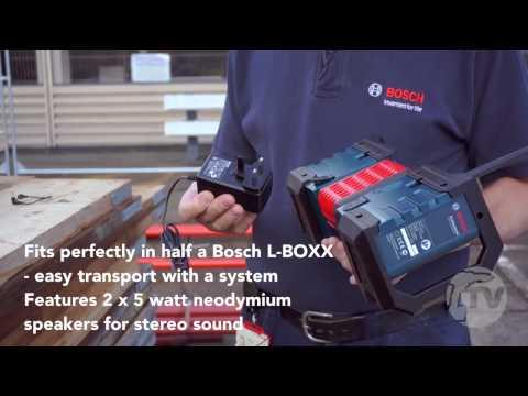 Bosch GML SoundBOXX Jobsite Radio from Toolstop