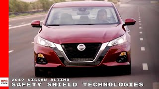 2019 Nissan Altima Safety Shield Technologies
