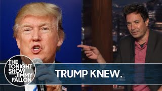Trump Lied to Public About Coronavirus | The Tonight Show