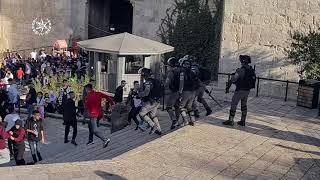 Tajná policie zatkla 22 osob při nepokojích v Jeruzalémě