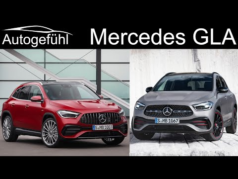 all-new Mercedes GLA with GLA 35 AMG PREVIEW Exterior Interior Technology 2020 - Autogefühl