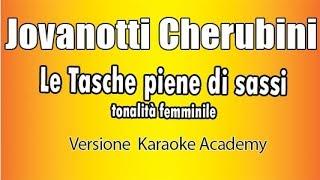 Karaoke Italiano    Jovanotti Cherubini  Tonalità Femminile      Le Tasche Piene Di Sassi