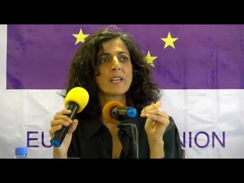 EU EOM Liberia Chief Observer Maria Arena about long-term observers in the field