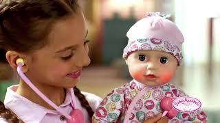 Интерактивная кукла Baby Annabell Доктор 43 см с аксессуарами Беби Аннабель от Zapf новинка 2018 года арт.701294 от компании baby born - видео