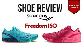 Win a Pair of Saucony Freedom ISO's