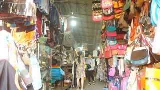 Sihanoukville Phsar Leu Market inside & outside in cambodia