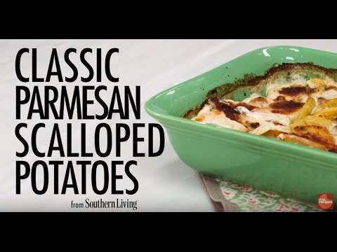 How to Make Classic Parmesan Scalloped Potatoes
