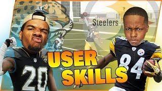 *CUSTOM GAME MODE* Antonio Brown VS Jalen Ramsey! Who Wins?!? - Madden 19 User Skill Challenge Ep.1