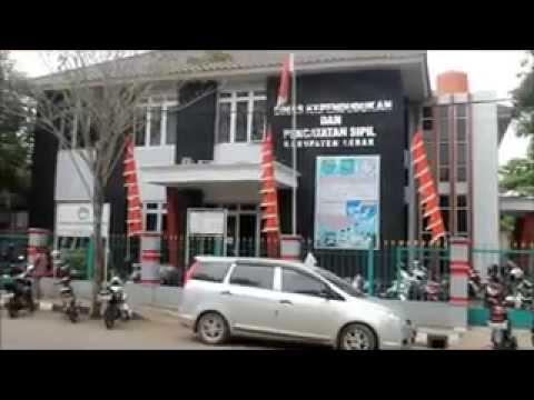Aktifitas Kantor Disdukcapil Kabupaten Lebak