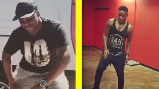 Kwaito vs Leshole from Skeem Saam dance moves (Gwara gwara dance)