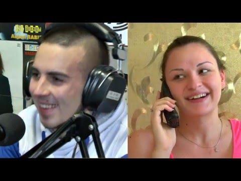 Впервые в Запорожье в прямом эфире предложил своей девушке выйти замуж! И она ответила ДА!!!