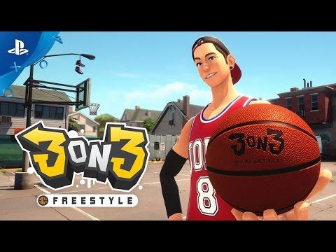 3on3 Freestyle - Open Beta Trailer | PS4 thumbnail