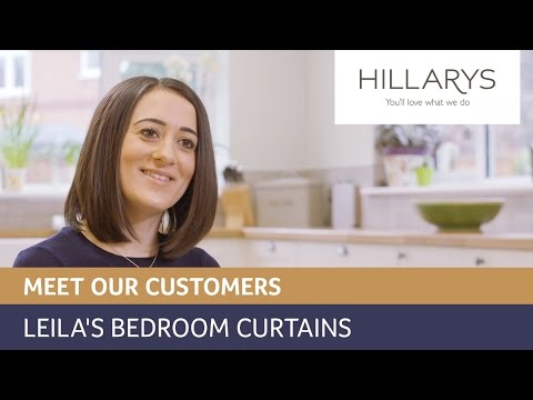 Choosing curtains and roman blinds: Meet Leila YouTube video thumbnail