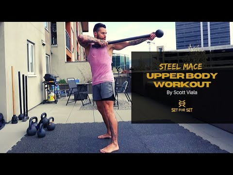 Steel Mace Back Row and Twist