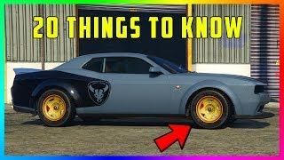 20 Things You NEED To Know Before You Buy The Bravado Gauntlet Hellfire In GTA 5 Online!