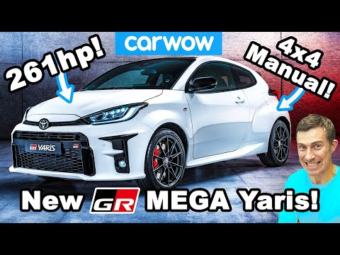 External Review Video D0bTFAjK8tM for Toyota GR Yaris (Toyota Gazoo Racing) Hatchback