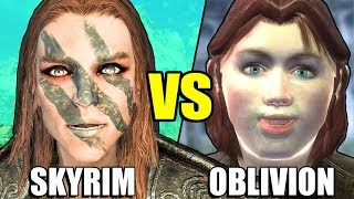 5 Things Skyrim Did Better Than Oblivion