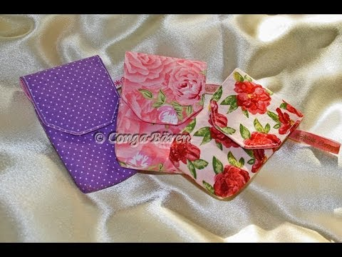 Handytasche / Smartphonetasche nähen DIY