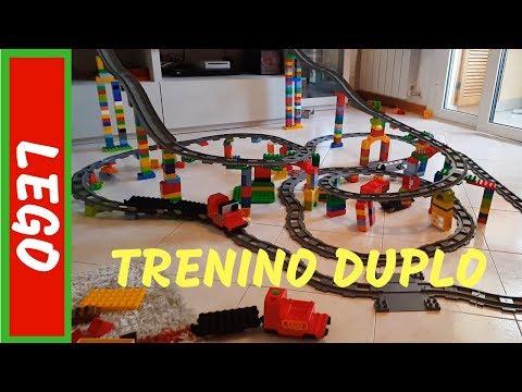 LEGO DUPLO TRENO - pista 1