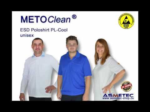 METOCLEAN ESD Kleidung - bequem, atmungsaktiv, statisch ableitend geeignet für alle EPA-Bereiche, aber auch zum Tragen im Büro