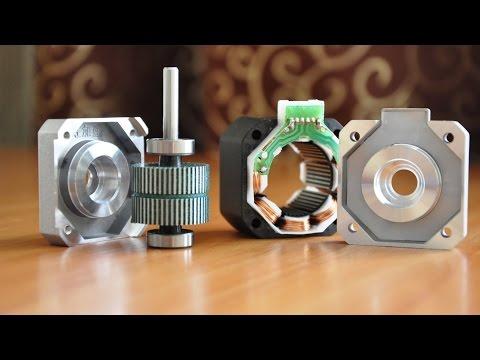 Принцип работы шагового двигателя на примере Nema 17/ ШД HS4401