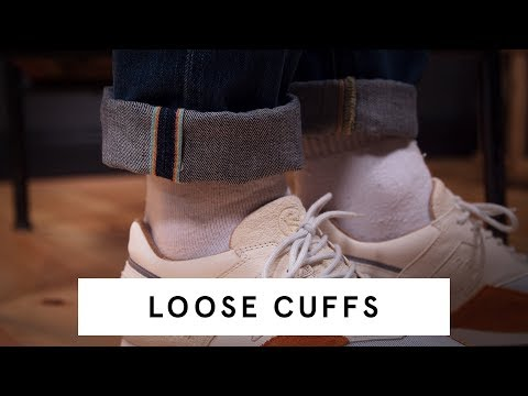 Loose Cuff Jeans   Tutorial