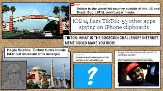 TWSW06: (wk28, 2020) - Disney World, Hagia Sophia Mosque, iOS apps clipboard, Dogecoin, Kanye West..
