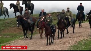 Рамзан Кадыров побывал в Ножай-Юртовском  районе