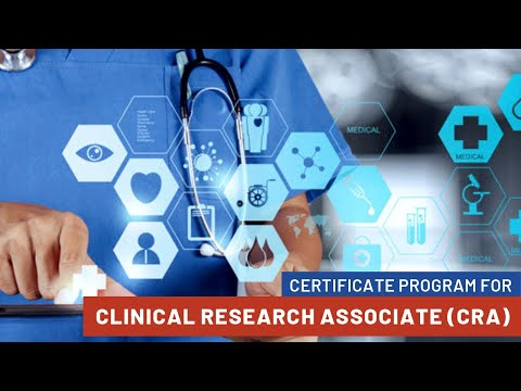 Certificate Program for Clinical Research Associate (CRA)