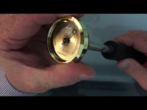 Tarare un igrometro con il metodo dei sali saturi