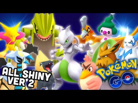 All available shiny Pokemon version 2 in Pokemon GO | October 7th 2019