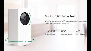 Wyze Cam Pan 1080p Pan Tilt/Zoom Wi-Fi Smart Home Camera with 2-Way Audio FULL REVIEW