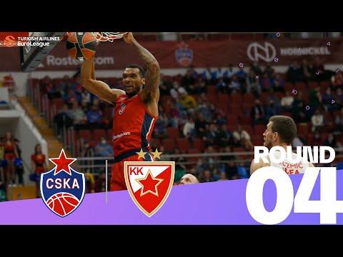 Undermanned CSKA edges Zvezda | Round 4, Highlights | Turkish Airlines EuroLeague