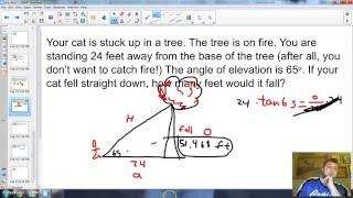 G SRT 8 Angle Of Elevation And Depression