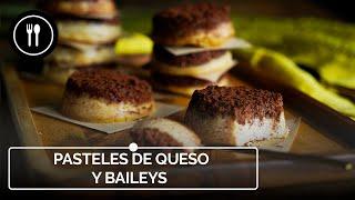 DELICIOSOS PASTELES DE QUESO Y BAILEYS