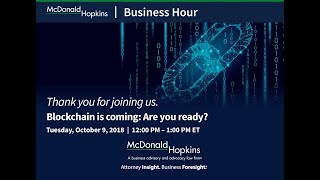 Blockchain is coming: Are you ready?