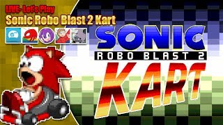 Let's Play Sonic Robo Blast 2 Kart LIVE feat. your favourite YouTubers - Saturday 24th Nov 8pm GMT