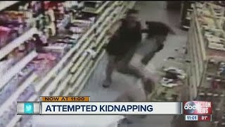 Mom and Off-Duty Deputy thwart attempted abduction at Dollar General in Hernando