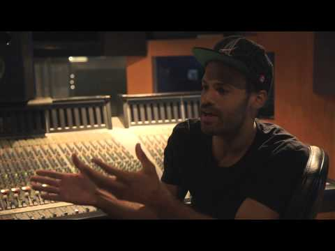 Alain Clark -  Recording Drums @ Sarm Studio's (Official Video)