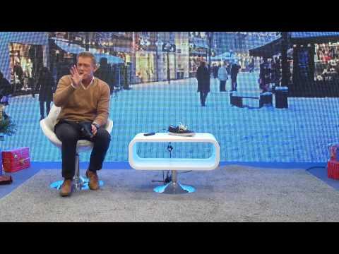 infactory elektrischer Schuhtrockner mit UV-Licht