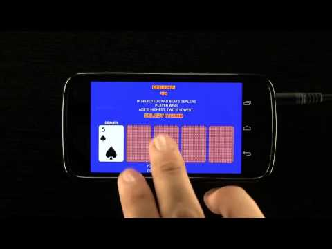 Video of Video Poker - Original Games!